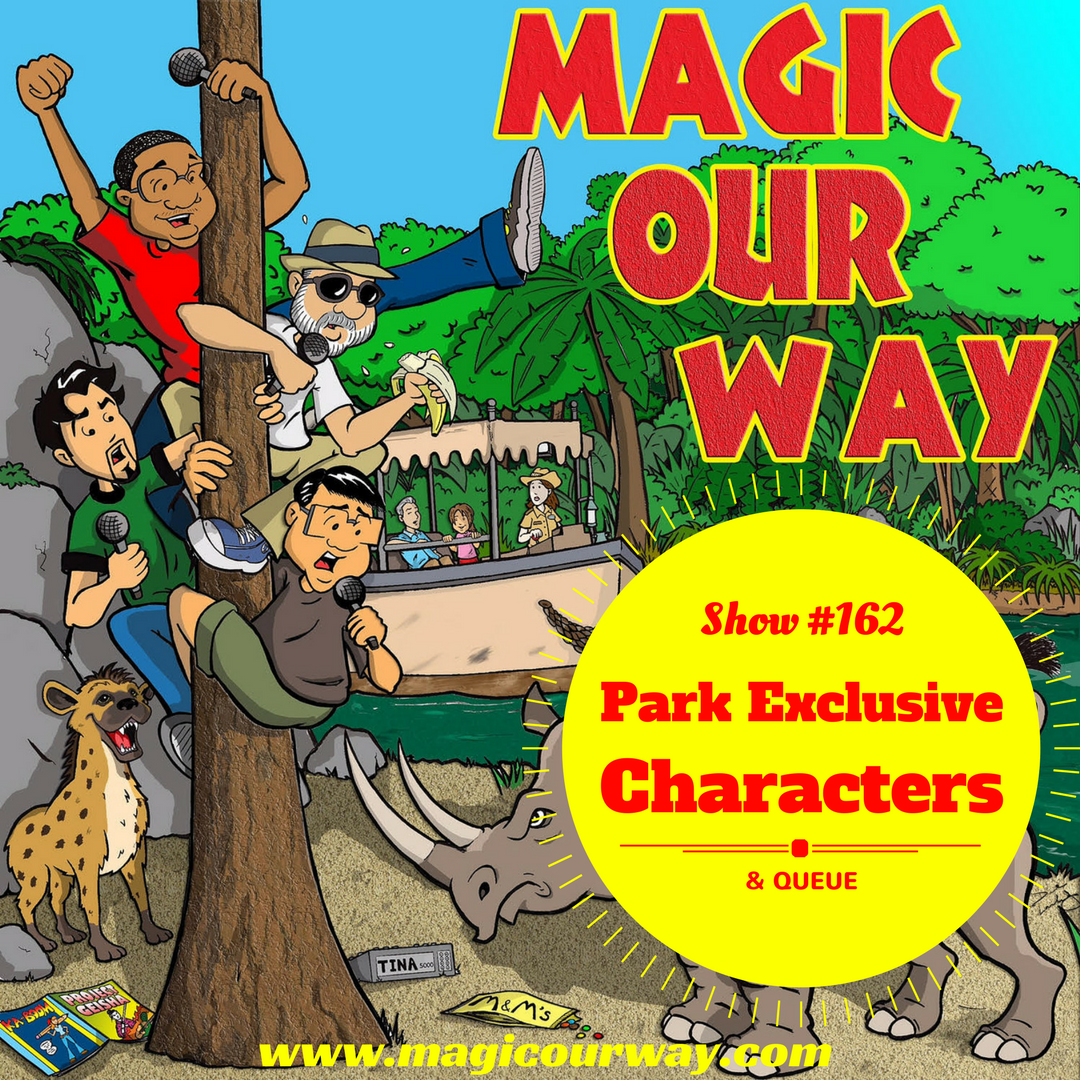 MOW: Episode 162: Top 5 Parks Exclusive Characters – The BS Podcast